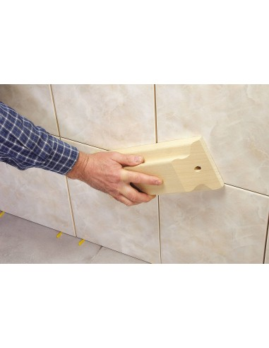 300 mm Tiling tamper with rubber sole