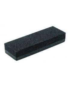 Dual grit rubbing stone