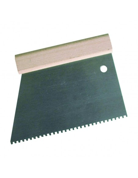 Spreader 185 x 90 mm U shape notches glue spreader 3 x 3 mm