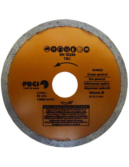 DISQUE DIAMANT POWER PLUS 110 MM A USAGE GENERAL