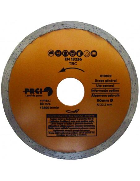 POWER PLUS DIAMOND BLADE FOR GENERAL USE diameter 110mm