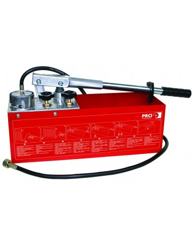 Pompe à epreuve pour canalisations