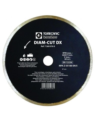 DIAMOND BLADE FOR TILING - DIAMCUT DX