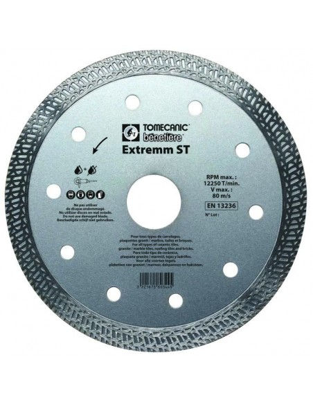 EXTREMM SUPER PRO DRY DIAMOND BLADE - SPECIAL FOR HARD TILE