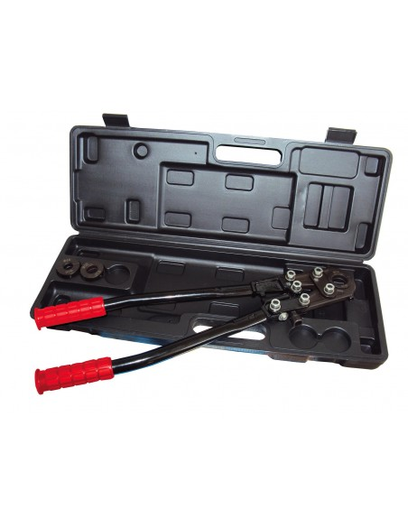 PIPE CRIMPING TOOL SET BY COMPRESSION