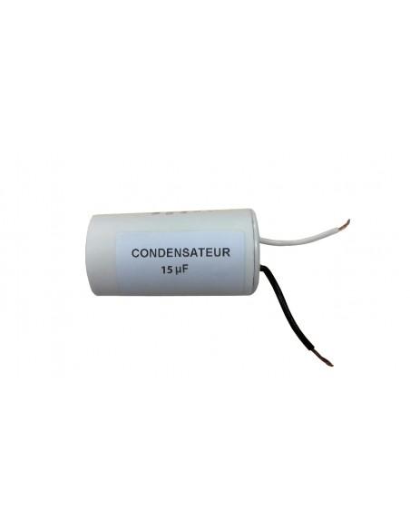 CONDENSATEUR 15 micro farad POUR COUPE-CARREAUX ELECTRIQUES PRCI COUPELEC MILLENIUM