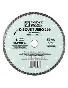 DISQUE DIAMANT TURBO  - Ø...